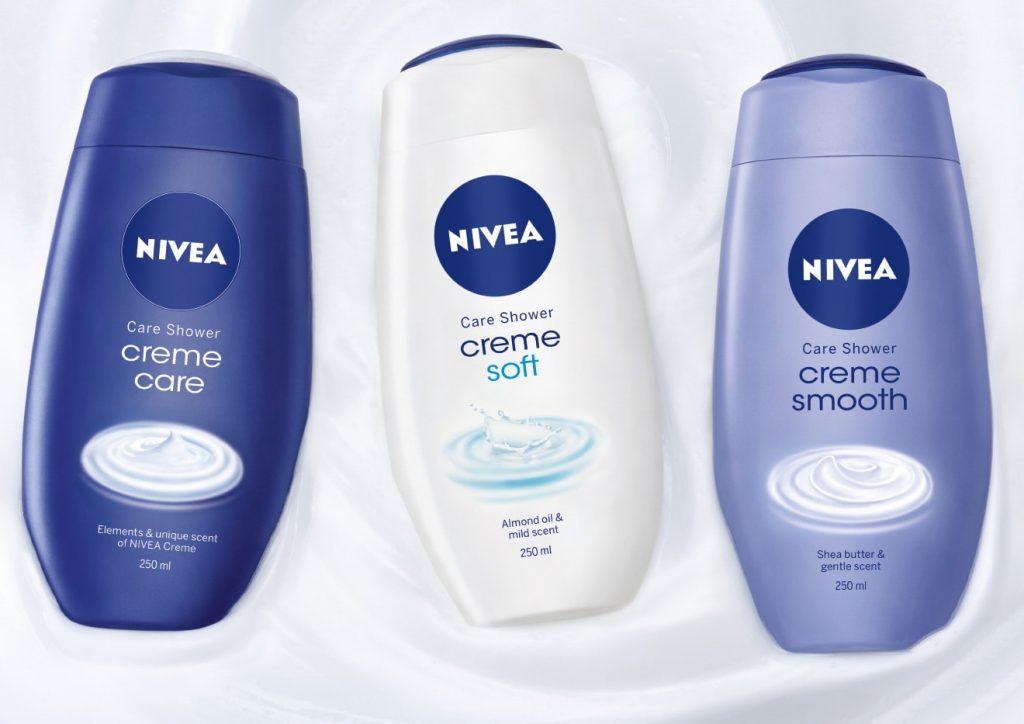 NIVEA Grupaj geluri de dus Creme-min