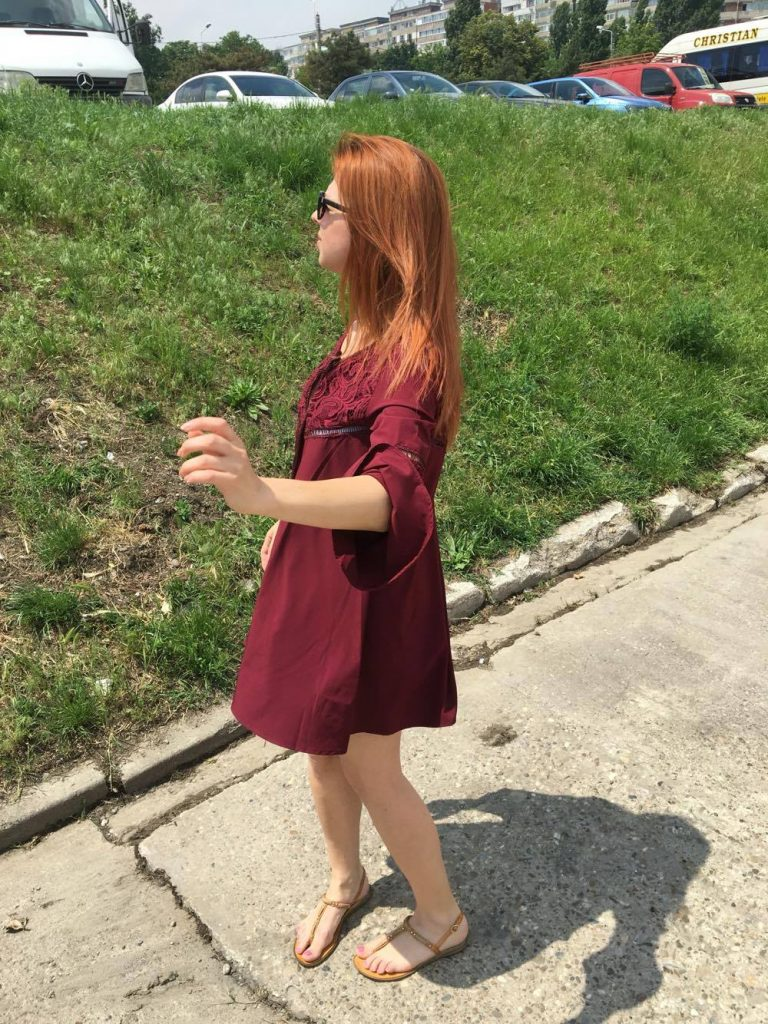 Rochie burgundy4