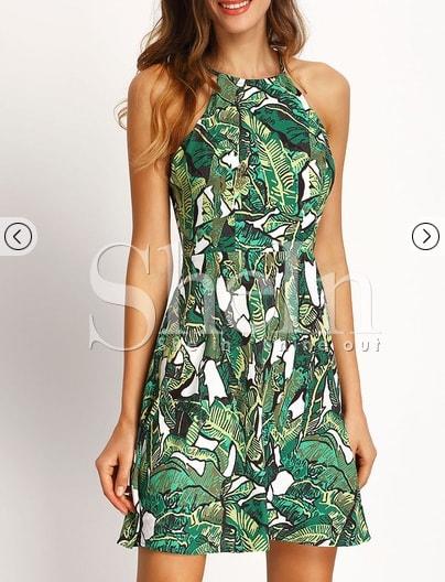Rochie verde-min