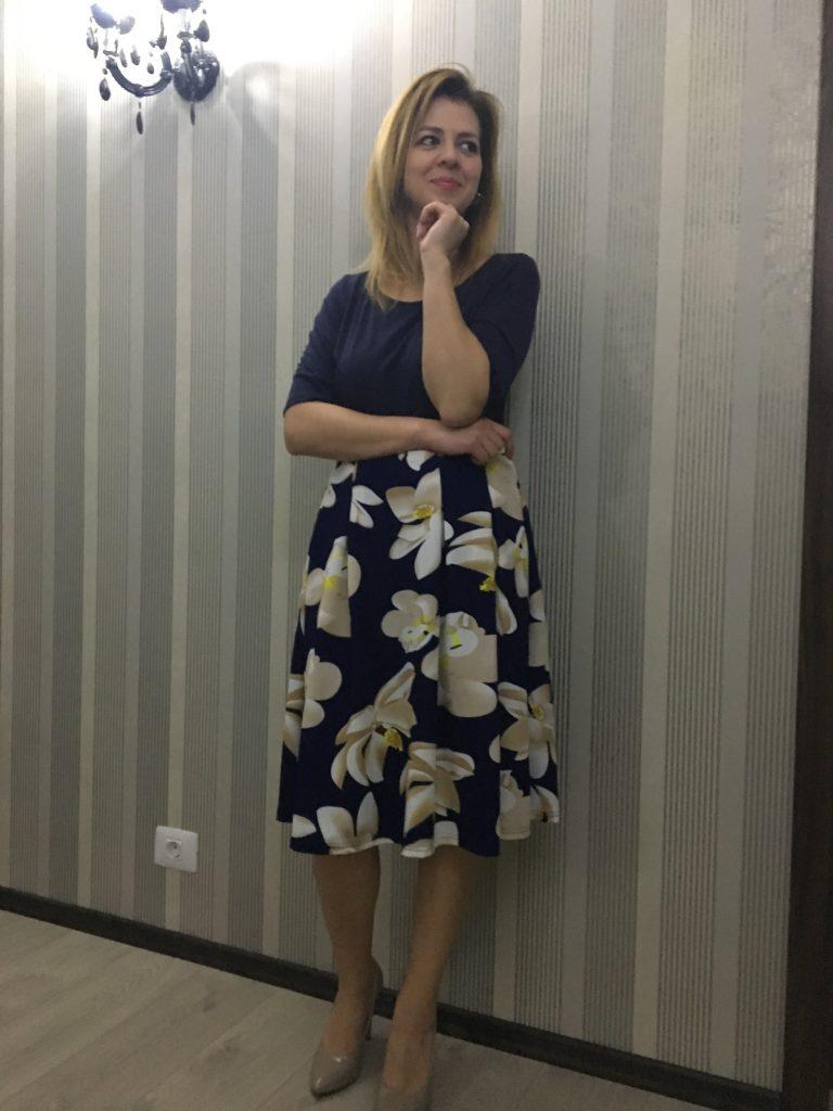 fashionmia-rochie-inflorata