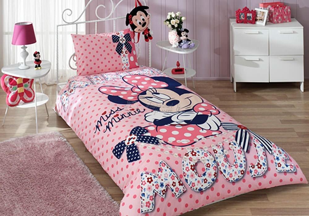 minnie-mouse-dream-lenjerie-de-pat-din-bumbac-pentru-copii-min